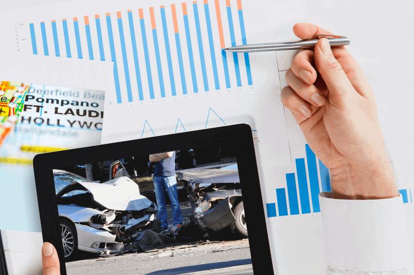 Fort Lauderdale Car Crash Statistics and Dangerous Intersections