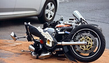 a motorcycle accident requiring an injury lawyer