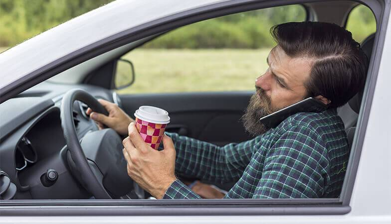 Distracted Driving Awareness Month Reveals all Forms of Distractions
