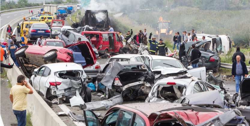 5 of the Worst Car Accident Pileups in Florida History