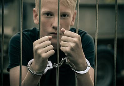A perpetrator of juvenile crimes in need of an attorney