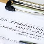 Document for filing a personal injury statement