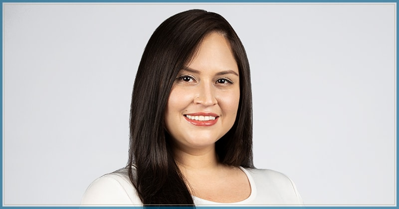 Maria Valencia a Legal Assistant at Weinstein Legal