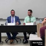 criminal defense lawyer discusses preparing for law school at FAU panel