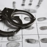 Handcuffs & fingerprints for a felony charge in FL